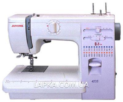 Швейная машина среднего класса janome 423 s